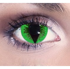 Green Cat Eye contact lenses | Contact lens solution | Quickclipinhairextensions.co.uk