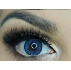 Blue 1 Year Contact lenses ICE FLOWER Colours of the Wind Annual Wear Pair Lens