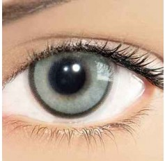 Grey CRYSTAL Hidrocharme Hidrocor Freshgo Contact Lens 3for2 on all Annual 12 MONTH wear lenses Coloured Contacts (2 lenses)
