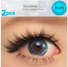 BLUE 12 Month Wear 3for2 DEAL on ALL Contact Lenses Lens CUPID Natural Coloured Contacts 3 TONE (2 lenses)