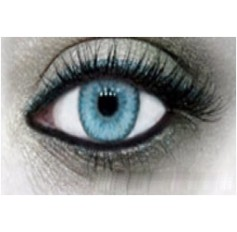 BLUE Contact Lens 1 Year Annual wear Cutie 2 Tones Cosmetic Contact Lenses