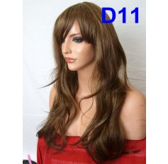 Shade 11- Brown mixed Blonde-Style D Wavy