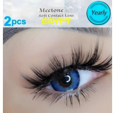 Blue Coloured Contacts Natural Brown Egypt Lens Pair (Annual Wear)