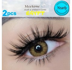 Brown Coloured Contacts Natural Brown Egypt Lens Pair (Annual Wear)