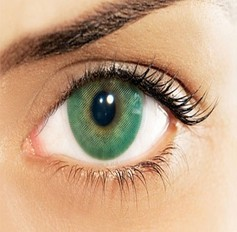 Green Emerald natural contact lenses
