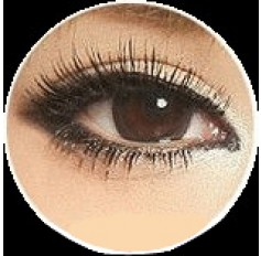 CHOCOLATE Cosmetic Contact Lenses Kilala Popcorn - 1 Year (Pair)