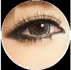 GREY Cosmetic Contact Lenses Kilala Popcorn - 1 Year (Pair)