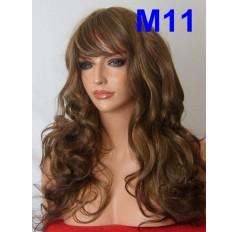 Brown Mixed Wig