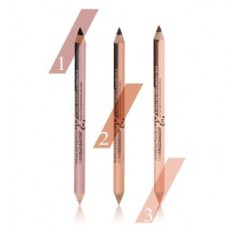 MENOW Eyebrow PENCIL & concealer - double ended - Fine Brow Definition Shaper Wood Pencil- Waterproof Liner 5 SHADES