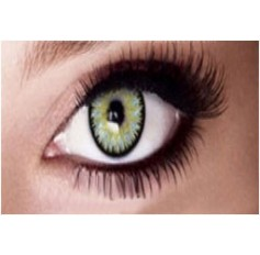 GREEN 1 Year Annual Coloured Contacts Contact Lenses Lens Marine 2 Tones Pair