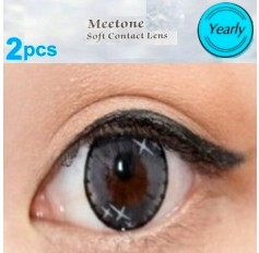 GREY 12 Month Wear 3for2 on ALL Coloured Contact Lenses MINISTAR Natural Contact Lenses Lens 3 TONE Contacts (2 lenses)