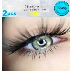 VIVID GREY MT20 Contact Lenses Lens 3 Tone Blue Coloured Contacts lens Extended wear (2 lenses)