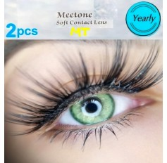 LIGHT GREEN MT22 Contact Lenses Lens 3 Tone Blue Coloured Contacts lens Extended wear (2 lenses)