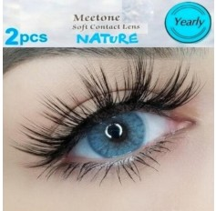 Blue Natural Coloured Contact lenses Two Tone (365 Days)
