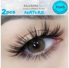 Brown Natural Coloured Contact lenses Two Tone (365 Days)