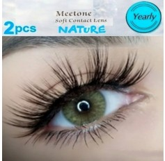 Hazel Natural Coloured Contact lenses Two Tone (365 Days)
