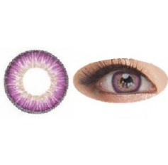 VIOLET Contact lenses Naty B puffy 3 Tones - 1 Year (Pair)