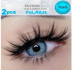 Three Tone Blue Contact Lenses Yearly