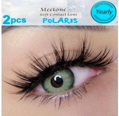 Three Tone Green Contact Lenses Yearly