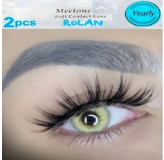 3 Tone Brown Contact Natural Lenses Yearly