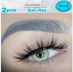 3 Tone Green Contact Natural Lenses Yearly