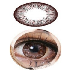 GREY Summer Doll BIG EYE 19.8mm Cosmetic Contact Lenses - 1 Year (Pair)