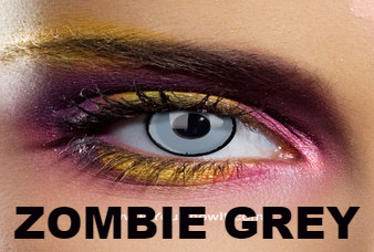 ZOMBIE GREY MAXVUE CONTACT LENSES